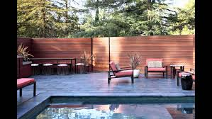 Modern Backyard YouTube - Modern backyard designs