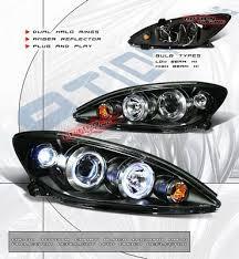 2004 toyota camry lights toyota camry 2002 2004 black dual halo projector headlights