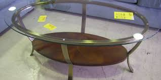 Round Glass Coffee Table by Coffee Tables Oval Glass Coffee Table Metal Frame Stunning Round