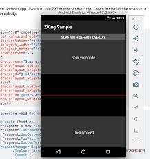 xamarin activity layout xamarin android how to make zebra xing zxing as subview in