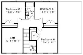 Two Storey Floor Plans Tyler By All American Homes Two Story Floorplan