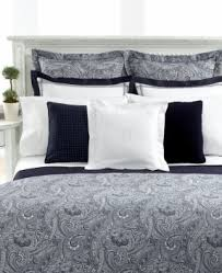 Black And White Paisley Duvet Cover Grey Paisley Bedding Foter