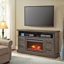 electricace tv stand entertainment center heater mantel media
