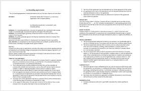 sample agreement to compromise debt microsoft word templates