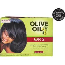 ors u0026trade olive oil built in protection no lye hair relaxer u0026trade