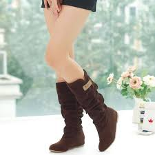 womens boots mid calf brown aliexpress com buy 2017 fashion protect boots autumn