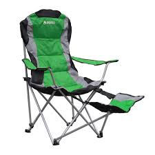 Cushioned Chairs Gigatent Padded Camping Chair With Footrest Cc003 The Home Depot