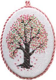 135 best cross stitch trees images on cross stitch
