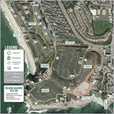 First Landing State Park Trail Map by Headlands Conservation Area Trail System City Of Dana Point