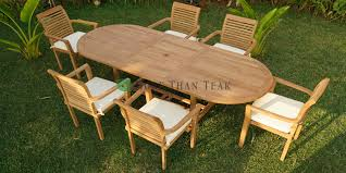 Teak Garden Table More Than Teak