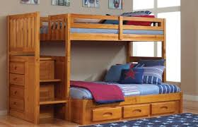bunk bed with steps and drawers design bedroom ideas