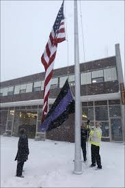 Us Flags At Half Mast We Buy And Sell Halon Local Firemen Fall In Final Alarm