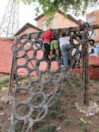 backyard rock climbing wall for kids home decor ideas