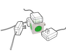 online shop generic powercube original usb electric outlet wall