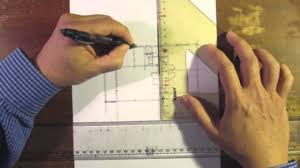 architectural floor plan sketch by hand drawing no 5 youtube