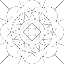geometric mandala coloring pages printable coloringstar