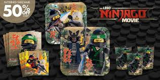 the lego ninjago movie party supplies boys birthday party themes