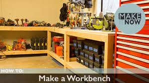 How To Make A Work Bench How To Make A Workbench U2013 Makeitnow