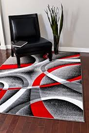 Grey Rugs Cheap Bedroom Gray And Red Rug A Wool 160 X 230cm In Grey Blue Black