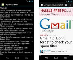 rss reader android creating a simple rss application in android v2 android