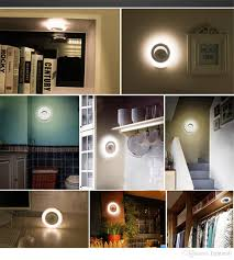 under the cabinet led lights battery operated best smart sensor body led nightlight motion automatic wall light