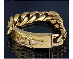 hearts bracelet images Chrome hearts 22k yellow gold id diamonds bracelet JPG