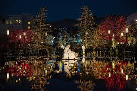 temple square lights 2017 schedule utah s top christmas lights displays yes even temple square are