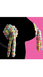 edible pasties one size fits most womens candy tassels candy