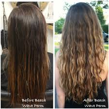 beach wave perm before and after beach wave perm done by taylor
