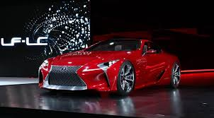 2012 lexus lf lc lexus lf lc hybrid sports coupe unveiled at 2012 detroit by