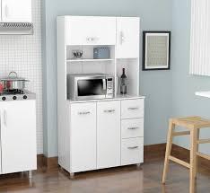 Door Storage Cabinet Kitchen Microwave Hutch Ideas Amusing Inval America Door Storage
