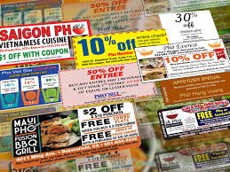 coupons for restaurants online coupons and offers what s in it for pho restaurants