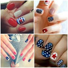 4th of july nails art designs ideas 2017 easy fourth of july nails