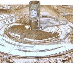 anamorphic portrait optical illusion
