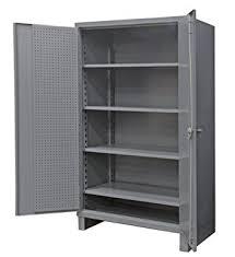 Heavy Duty Steel Cabinets Durham Extra Heavy Duty Welded 12 Gauge Steel Pegboard And Shelf