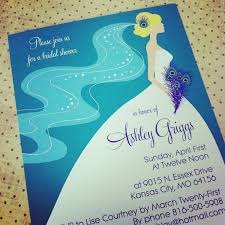 Make Your Own Bridal Shower Invitations Peacock Wedding Shower Invitations Cloveranddot Com