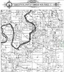 Land Ownership Map Voisinet The Spiraling Chains Schroeder Tumbush Family Trees