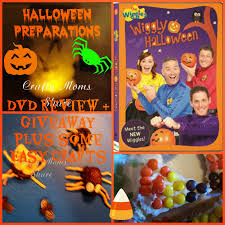 Halloween Dvd Crafty Moms Share Halloween Is Coming Wiggly Halloween Dvd