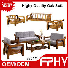 Solid Teak Wood Furniture Online India Manufacturer Fphy Living Room Furniture Solid Wood Sofa Set