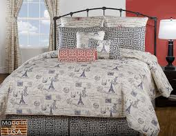 amazon com victor mill paris comforter set king home u0026 kitchen