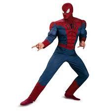 halloween costume spiderman spider man movie 2 muscle chest costume buycostumes com