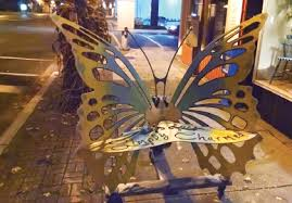 Butterfly Bench Butterfly Bench To Get Makeover News Gladwinmi Com