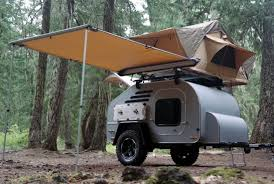 jeep camping trailer terradrop off road capable overland inspired teardrop trailer
