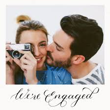 engagement announcement cards personalised engagement announcement cards papier
