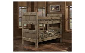 Rustic Bunk Bed Bernards Mossy Oak Bunk Bed Harris Family Furniture
