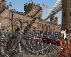 Byzantine Ottoman Siege Of Constantinople Byzantine War Pinterest