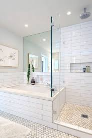 best 25 white tile bathrooms ideas on pinterest tiled bathrooms