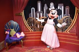 Hollywood Backdrop Mousesteps New Hollywood Minnie Mouse U0026 Sorcerer Mickey Meet