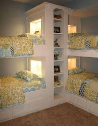 Corner Bunk Bed Cool Corner Bunk Bed Ideas