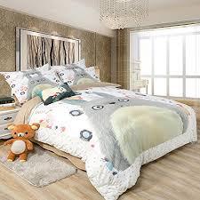 Japanese Comforter Set Anime Bedding Amazon Com